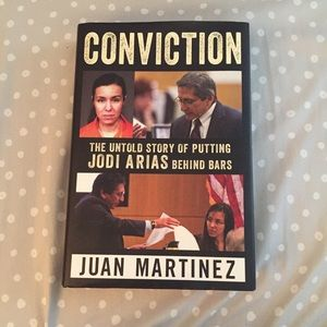 Conviction by Juan Martinez, hardcover book